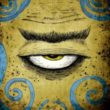 """Ilustraciones para el libro """"El Ojo de Balor"""" Escrito por Olga Drennen. Editorial Bambalí.. Um projeto de Ilustração e Ilustração infantil de Matías Daviron - 18.02.2020"""