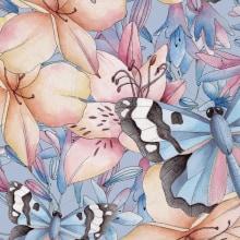 SETS DE PAPELERIA. Un projet de Aquarelle et Illustration botanique de Cristina Cilloniz - 18.04.2020