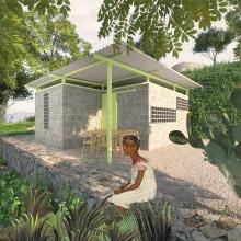 Proyecto Casa en Miacatlán, Morelos.. Un proyecto de Arquitectura, Arquitectura interior e Ilustración arquitectónica de Eduardo Diaz - 19.04.2020