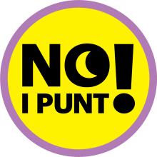 Imagen gráfica NO I PUNT! - Ajuntament de Palma (2019). Un proyecto de Br, ing e Identidad, Diseño editorial y Diseño gráfico de Tamara Jiménez Miguel - 20.12.2019