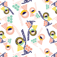Pop Art Collection. A Pattern Design project by Anabel Carrasco - 04.21.2020