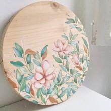 PIEZA DE ARTE, acuarela sobre madera. Un projet de Aquarelle de Cristina Cilloniz - 21.04.2020