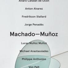 Machado-Muñoz Gallery: Branding, Print, and Web. A Br, ing und Identität, Design und Verlagsdesign project by Jeffrey Ludlow - 31.03.2015