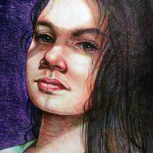 Mi Proyecto del curso: Ilustración realista con bolígrafos de colores. A Artistic drawing project by Juan Carlos Elizalde Chedraui - 04.23.2020