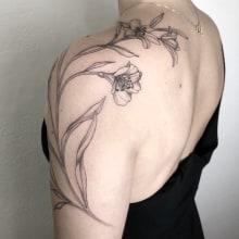 Shoulder. Un projet de Conception de tatouage de Vitória Vilela - 27.04.2020