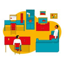 Save the Children | Ilustraciones. A Design von Figuren, Vektorillustration, Icon-Design und Digitale Illustration project by Pablo Caprino - 29.04.2020