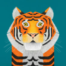 My Favorite Wildlife Artworks. Um projeto de Ilustração, Design gráfico, Ilustração digital, Stor, telling, Ilustração infantil e Pintura digital de Rohan Dahotre - 02.05.2020