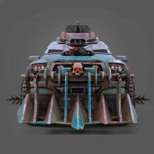 Infernus. A 3-D, Design von Kraftfahrzeugen und Videospiele project by Alber Silva - 04.05.2020