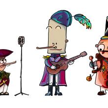 Mi Proyecto del curso: Fábrica de personajes ilustrados. A Illustration project by Albert Pradells-Pelayo - 05.04.2020