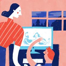 Albert Pinilla, Gemenskap & påverkan newspaper. Un proyecto de Diseño de carteles, Diseño digital e Ilustración de Albert Pinilla Ilustrador - 04.05.2020