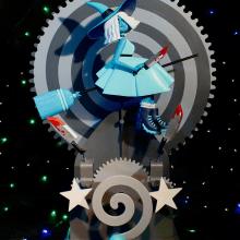 Halloween Automaton. A H, werk, Spielzeugdesign, Art To und Tischlerei project by Camille Labarre - 04.05.2019