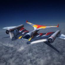 Mi Proyecto del curso: Diseño y modelado de una nave sci-fi en 3D X-Hunter SpaceShip. Un proyecto de 3D y Modelado 3D de Rubén Roldán Crespo - 26.02.2020
