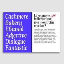 Artigo Display. Un progetto di Tipografia , e Design tipografico di Joana Correia - 05.05.2020