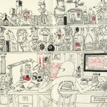 Some new drawings. Un proyecto de Ilustración de Mattias Adolfsson - 05.05.2020