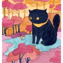 Miniaturas con acuarela / Watercolor Miniatures. Um projeto de Ilustração, Pintura em aquarela e Ilustração infantil de Alinailustra - 06.01.2020
