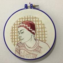 Mi Proyecto del curso: Creación de retratos bordados. Un proyecto de Bordado de Arlette Cassot - 08.05.2020