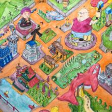 Mi Proyecto del curso: El arte del sketching: transforma tus bocetos en arte. Un projet de Illustration, Créativité, Dessin , et Dessin artistique de Sebastian Chalela - 08.05.2020