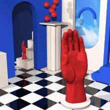 Mi Proyecto del curso: Composiciones abstractas con Cinema 4D. Un projet de Direction artistique , et Animation 3D de Ane Iriberri - 11.05.2020