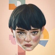 My project in Creative Portrait Illustration with Procreate course. Un projet de Illustration, Illustration numérique et Illustration de portrait de marlenedylan - 13.05.2020