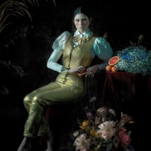 Mi Proyecto del curso: Retrato fotográfico pictórico. A Fashion photograph, Studio Photograph, and Fine-art photograph project by Iván - 05.13.2020