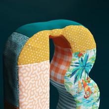 Bobolink logo reinterpretation. A Illustration, 3D, Art Direction, Br, ing, Identit, Creativit, 3d modeling, Design 3D, and 3D Lettering project by Ana Porta - 05.10.2020