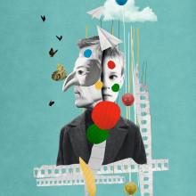"""Mientras se gestaba la """"Nueva Normalidad"""". Um projeto de Fotografia, Design editorial, Design gráfico, Colagem e Concept Art de ivan Rodriguez Garcia - 15.05.2020"""