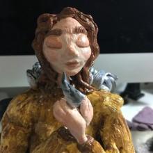 Mi Proyecto del curso: Mujer Ángel. . Un proyecto de Artesanía, Bellas Artes y Escultura de María del Mar Henríquez - 19.05.2020