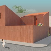 Mi Proyecto del curso: Representación gráfica de proyectos arquitectónicos. Un proyecto de Arquitectura y Paisajismo de Fernanda Segovia Gallardo - 19.05.2020