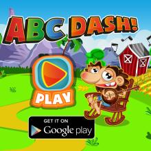 ABC DASH! Videojuego. Un proyecto de Diseño de personajes, Videojuegos, Diseño de videojuegos y Desarrollo de videojuegos de Jorge de Juan - 01.02.2017