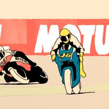 Rotoscopia: Valentino Rossi 400. Un proyecto de Animación 2D de XELSON - 01.01.2020