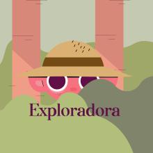 Exploradora. Un progetto di Animazione, Graphic Design , e Animazione 2D di fabiolalunata - 22.05.2020