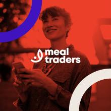 Meal Traders Branding. Um projeto de Design, Direção de arte, Br, ing e Identidade e Design de logotipo de Juan Carrillo - 04.11.2019