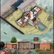 Mi Proyecto del curso: Ilustración digital de proyectos arquitectónicos. A Design, and Architecture project by Marcos Abel Conde Morales - 05.25.2020