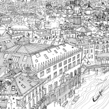 Black & White Illustrations. A Illustration, and Architectural illustration project by Carlo Stanga - 05.26.2020