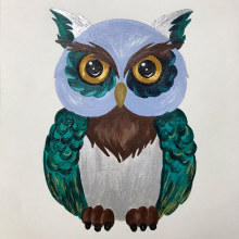 Buho. Un proyecto de Dibujo artístico de Daniela Chirino Santis - 28.05.2020