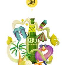 Mi Proyecto del curso: Ilustración exprés con Illustrator y Photoshop. A Digital illustration, and Vector Illustration project by Andrea Nogales - 05.28.2020