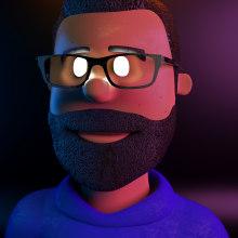 Mi Proyecto del curso: Composiciones con Cinema 4D y OctaneRender. Un proyecto de Modelado 3D de Ricardo Cons - 28.05.2020