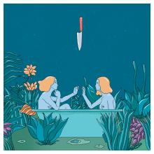 Separated from myself. Un progetto di Illustrazione, Belle arti, Creatività, Illustrazione digitale , e Pittura digitale di Dayana Montesano - 28.05.2020