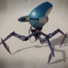 Q-Droid - Introducción al modelado hard surface. Un proyecto de 3D y Modelado 3D de Rubén Roldán Crespo - 29.05.2020