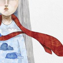 Mi Proyecto del curso: Creación de un álbum ilustrado. Um projeto de Ilustração digital de Olivia Fregoso - 19.02.2020