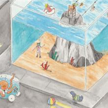 Meu projeto do curso: A arte de desenhar: transforme seus rabiscos em arte. Un proyecto de Ilustración, Bellas Artes y Dibujo de Eduardo Shiiti Jacob Toma - 01.06.2020