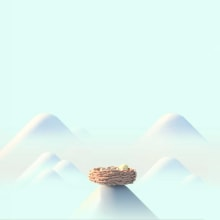 Oppo: Birdsnest. A 3D, Animation, 3D Animation, and 3D Character Design project by Laurie Rowan - 09.01.2019