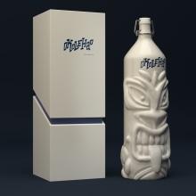 Okolehao - Packaging. Un progetto di 3D, Graphic Design, Packaging, Lettering , e Progettazione 3D di Anna Serrat - 06.09.2019