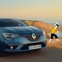 Renault Now. A Illustration, Werbung, Animation, Produktion, Animation von Figuren, 2-D-Animation und Zeichnung project by offbeatestudio - 02.06.2020