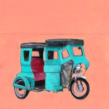 Cuadernos de viaje. A Malerei, Kartonmodellbau, Malerei mit Acr, l und Ölmalerei project by Pablo Colomo - 01.08.2017