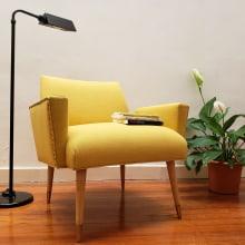 Renovación completa para este Sillón Americano . Um projeto de Design de móveis, Design de interiores e Decoração de interiores de Lucia Giraudo - 05.06.2020