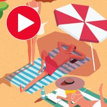 Summer 2020. Un proyecto de Animación, Animación de personajes e Ilustración digital de Juanma García Escobar - 06.06.2020