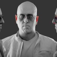 Desarrollo de Shader SSS. Um projeto de 3D, Design de iluminação, VFX, Produção, Iluminação fotográfica, Design de personagens 3D, 3D Design e Composição Fotográfica de Ro Bot - 06.06.2020