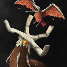Ni volando de sus tenazas huirás. Un proyecto de Ilustración, Creatividad, Dibujo, Ilustración digital, Concept Art, Dibujo artístico y Dibujo digital de Alex Shagu - 06.06.2020