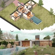 Mi Proyecto del curso: Ilustración digital de proyectos arquitectónicos. Un proyecto de Arquitectura e Ilustración arquitectónica de Felipe Muñoz Zarallo - 08.06.2020